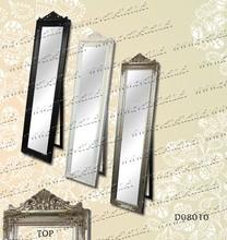 Modern Design Wooden Framed Full Length Dressing Mirror