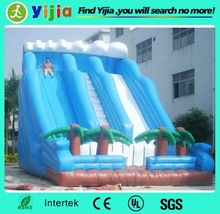 Commercial large plastic water slide for sale