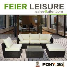 Garden furniture fashionable wicker sofa