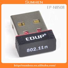 EDUP 802.11n USB Wireless LAN Network Card Adapter WIFI 150M EP-N8508