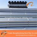 Tubo de puertas/tubo de acero galvanizado puertas con buena calidad