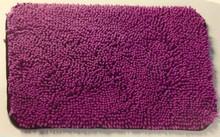 anti slip micro fibre chenille mats