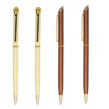 hotel or promotional use resin dome metal pen