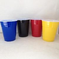 Christmas celebration water drinks tumbler/stackable mug series/ food grade material unbreakable plastic mug