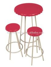 Modern Wine top plastic bar table set