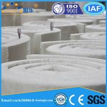 128 high alumina ceramic fiber blanket for boiler insulation