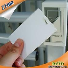 PVC(ABS) ID 125khz TK4100 proximity clamshell card