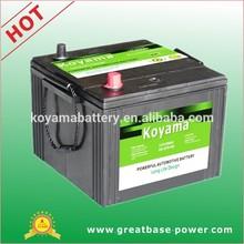 100Ah 12V sealed maintenance free automotive Marine battery car battery military vehicle battery US-6TN