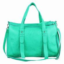 Women's fashion PU bowling bag