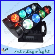 Pro Light 4 in 1 eight Eyes Mini Beam LED Moving Head Light