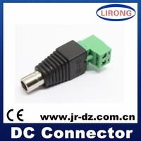 JR-52 High Quanlity Enviromental protection male dc connector socket ,