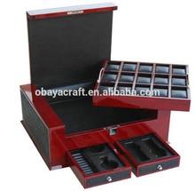 European style big watch storage box display box
