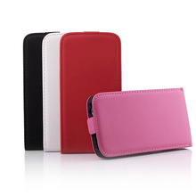 For samsung S5 flip leather case
