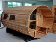 New Designed outdoor barrel sauna steam room