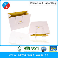 Matte or glossy laminated kraft shopping paper bag