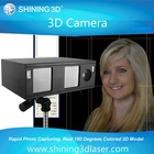 3d camera face capture/3d face photo crystal gift