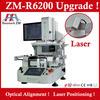 rework BGA motherboard machine ZM R6200 ps3 reball stencil preheating oven