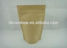 kraft paper bag heat seal tea/coffee/bread/snack food/dried fruit