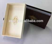 Golden Supplier on Alibaba Elegant Style Custom Small Size Drawer Sliding Box Paper Gift Box