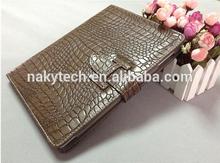 alligator pu leather case for ipad mini