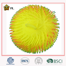 2014 New Product 12 Inch Colorful Hair Puffer Ball Toy