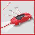 Prank juguetes, Impactante del juguete del coche keychian con láser y de la antorcha