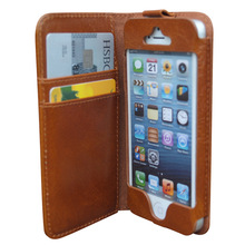 Premium leather wallet folio cute mobile phone covers for iphone 6