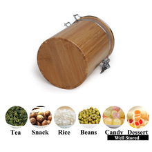 High quality kitchen tea coffee sugar canisters with transparent color with competitive price