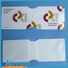 Wholesale oyster card holder plastic folding card holder wallet
