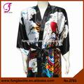 2703 mulher estoque disponível estilo de seda Robe quimono japonês