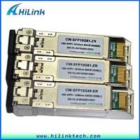 Wireless Data Transceiver 10G CWDM Fiber Optic