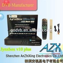 full hd 1080p jb200 module turbo satellite receiver jynxbox ultra hd v10 plus more stable than jynxbox v10