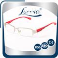 mais recente multicolors armação e lente reflexiva metal clássico óculosdeleitura tr90 templo
