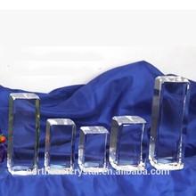Pujiang Factory Wholesale Blank Crystal Block
