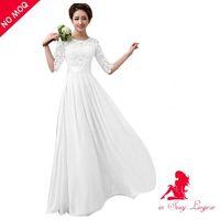Top Seller Fat Women Cheap Bridal Maxi Dress 2013