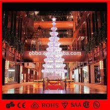 led spiral tree LED Fiber Optic Christmas Tree /Collapsible Christmas Tree 2012 Style hot sale %zhanwei$