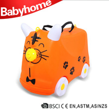 Cute travel plastic suitcase covers