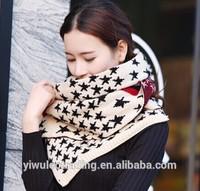 New 2014 Women Warm stars stripes flag scarves shawls