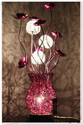 alibaba website purple study gift promotional table lamp
