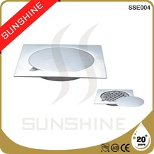 SSE004 Stainless steel decorative bathroom sink drain covers