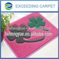 Home pet products shower cushion PVC bath rug