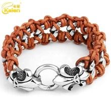 guangzhou jewelry bracelet making supplies leather bracelet for men