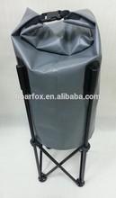 Grey color waterproof storage bag