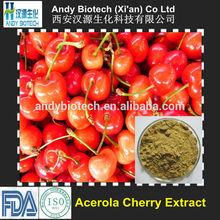 Professional Manufacturer 25% Acerola Extract Vitamin C