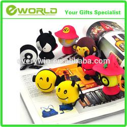 Cheapest car decoration eva plastic material ball topper