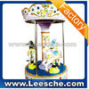LSJQ-012 Fun and educational ride Rose Horse Carousel /kids coin operated game machine/arcade games machines TT