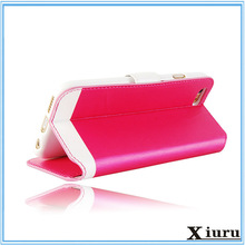 Bulk pink leather cheap mobile phone case for iphone 6 case for iphone6