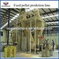 3-5ton/h feed pelotização para gado, pêlo de cabra, peixe, frango, porco