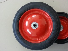 10x1.75 solid rubber wheel for baby's toy trolley/ kid's tricycle