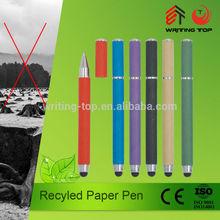 2015 custom eco friendly biodegradable ballpoint pen